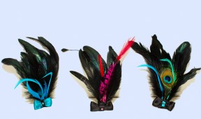 Short Feather Hair Pieces - group 1