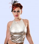 Trixie Silver Leather